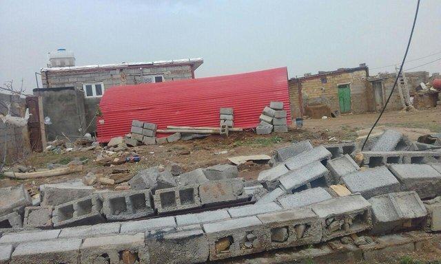مرگ دو نفر بر اثر طوفان در البرز