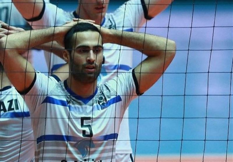 تشویق نقدی کمیته انضباطی فدراسیون والیبال پس از حرکت جوانمردانه محمد فلاح