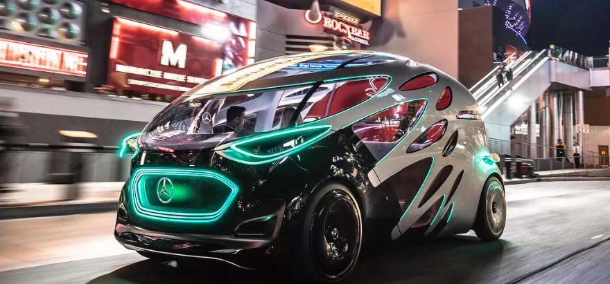 طرح مفهومی جدیدترین خودرو الکتریکی خودران مرسدس بنز رونمایی شد ، ترکیبی چشم نواز از فناوری و زیبایی