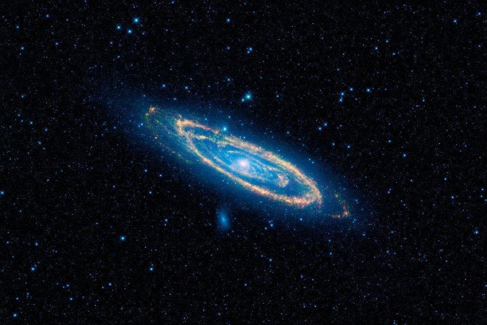 کهکشان آندرومِدا 4.5 میلیارد سال دیگر به کهکشان ما می خورد