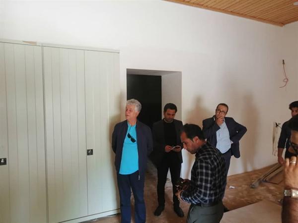 بازدید مدیرکل دفتر عملکرد و بازرسی سازمان میراث فرهنگی از موزه منطقه ای خلیج فارس
