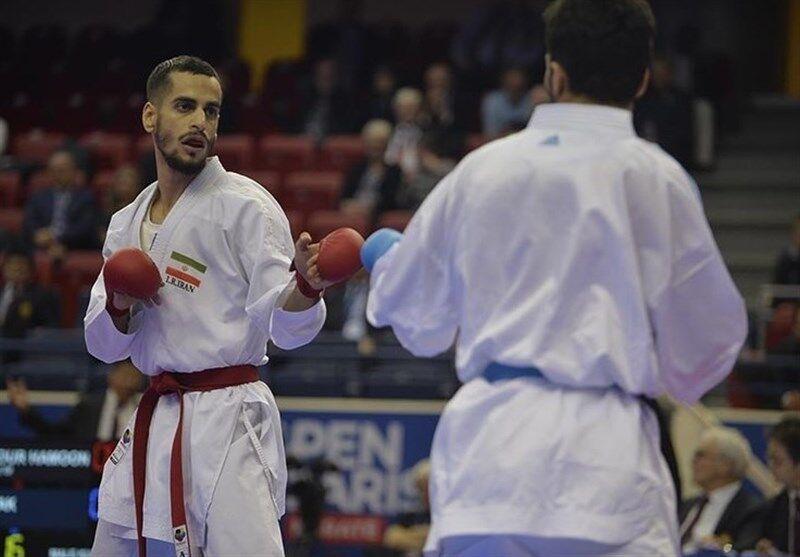 خبرنگاران حذف درفشی پور از لیگ جهانی کاراته
