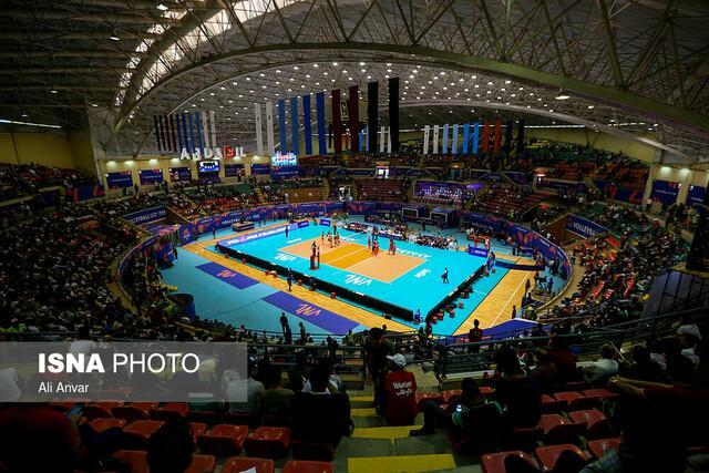 آمار بازی تیم ملی والیبال ایران مقابل فرانسه