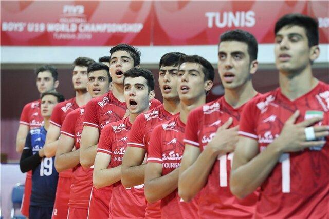 پنجمی ایران در والیبال قهرمانی نوجوانان جهان