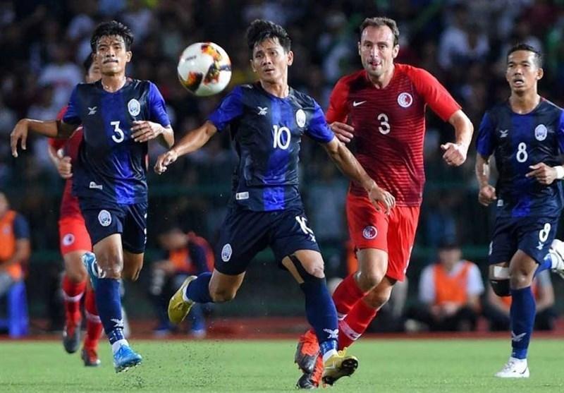 انتخابی جام جهانی 2022، شکست خانگی کامبوج برابر بحرین، پیروزی های خارج از خانه فیلیپین و نپال