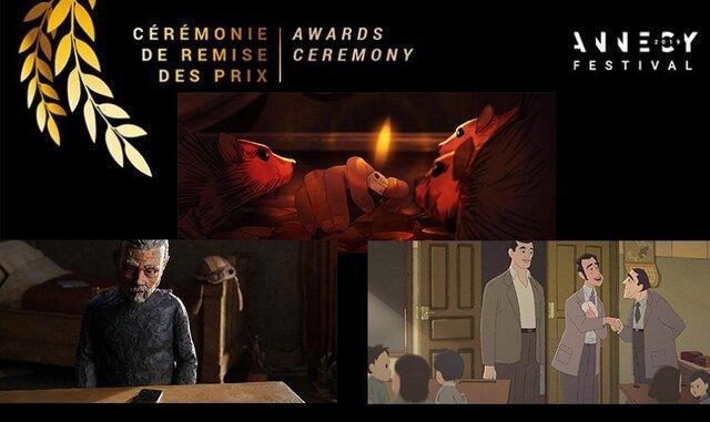 جایزه نخست جشنواره انیمیشن انسی به میزبان رسید