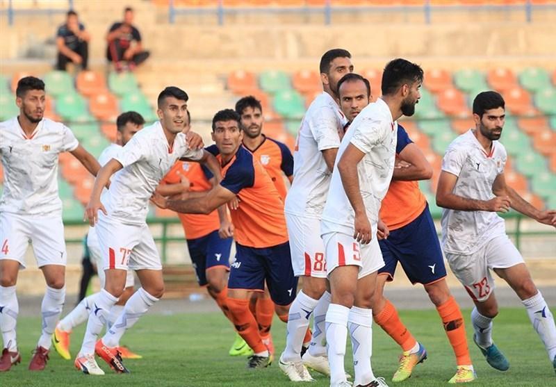 لیگ دسته اول فوتبال، شکست خانگی بادران و سقوط به رده ششم، مس رفسنجان به صدر رسید