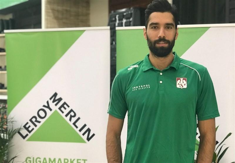استقبال پرشور والیبال دوستان لهستانی از ستاره ایرانی