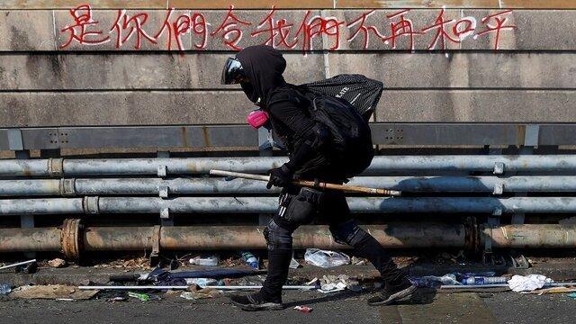 هرج و مرج در هنگ کنگ پس از چهارمین روز متوالی
