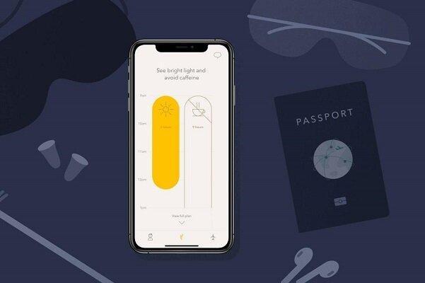 طراحی اپلیکیشن ضد بدخوابی در سفر