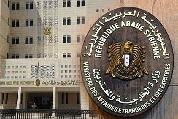 واکنش شدید اللحن دمشق به مداخله جویی آمریکا در امور سوریه