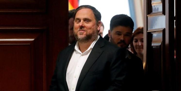 چراغ سبز دولت اسپانیا به آزادی موقت یکی از رهبران کاتالونیا