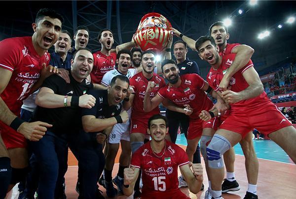 تعیین شدن رقبای ایران در والیبال المپیک توکیو
