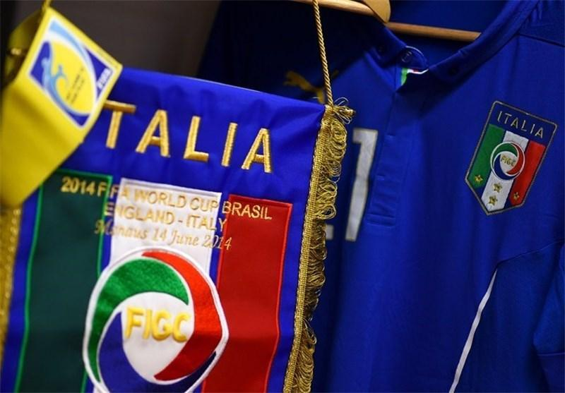 لوگوی فدراسیون فوتبال ایتالیا تغییر کرد