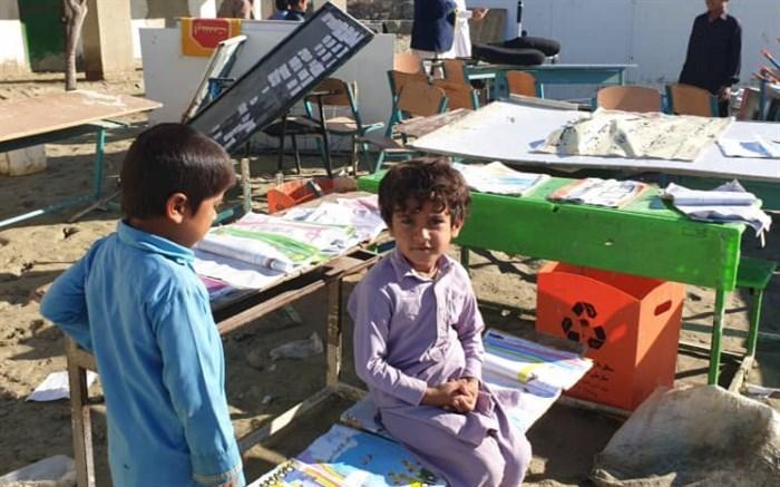 آخرین شرایط تحصیل دانش آموزان سیلزده در جنوب سیستان و بلوچستان