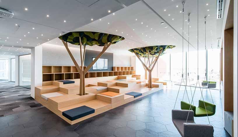 اهمیت معماری داخلی در دفاتر اداری