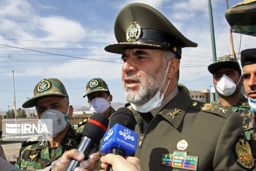 ضدعفونی معابر 260 شهر از سوی ارتش