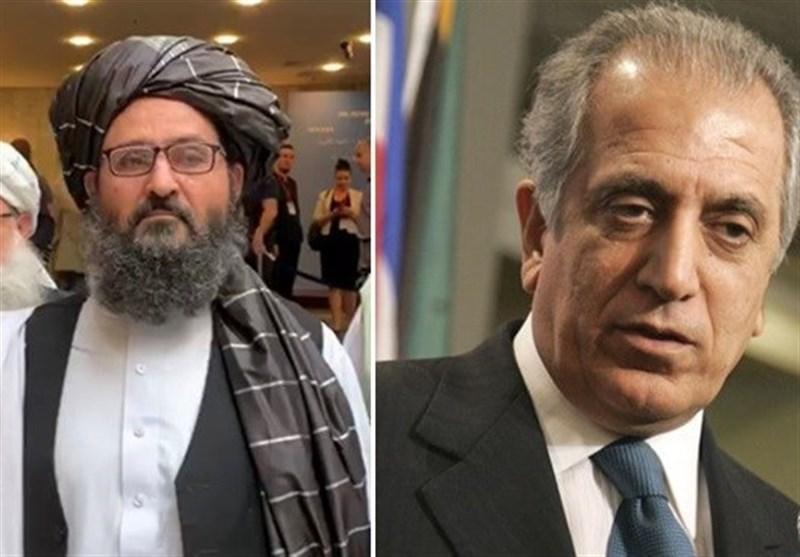 آغاز دور تازه سفرهای منطقه ای خلیلزاد از دیدار با معاون سیاسی رهبر طالبان