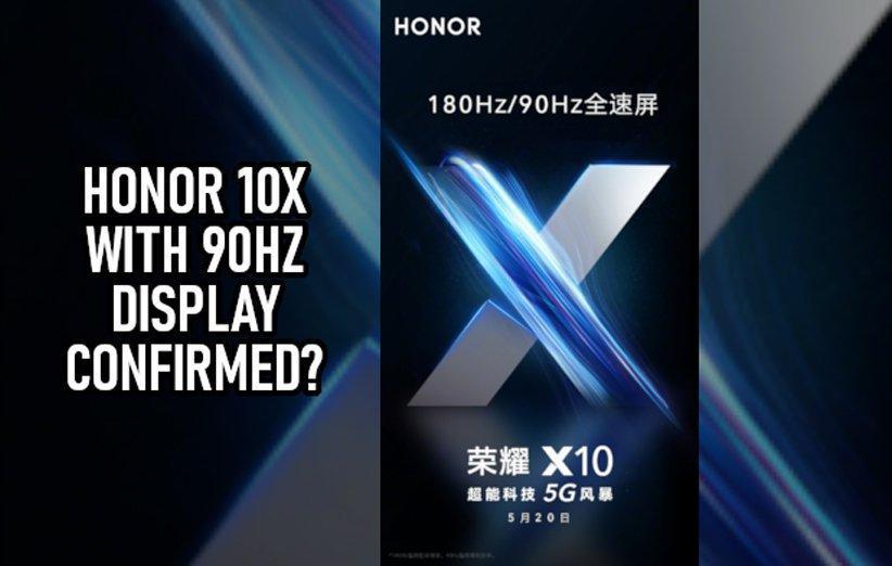 گوشی آنر 10X 5G با نمایشگر 90 هرتزی راهی بازار خواهد شد
