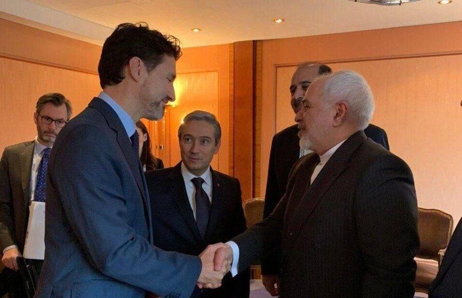 توضیحات ترودو درباره دیدارش با ظریف ، مهمترین خواسته کانادا چه بود؟