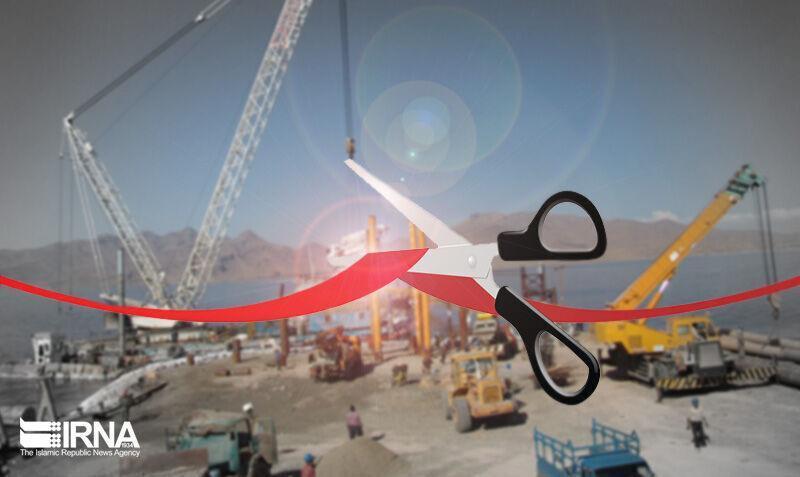 خبرنگاران افتتاح سه پروژه عمرانی و زیربنایی در رشت