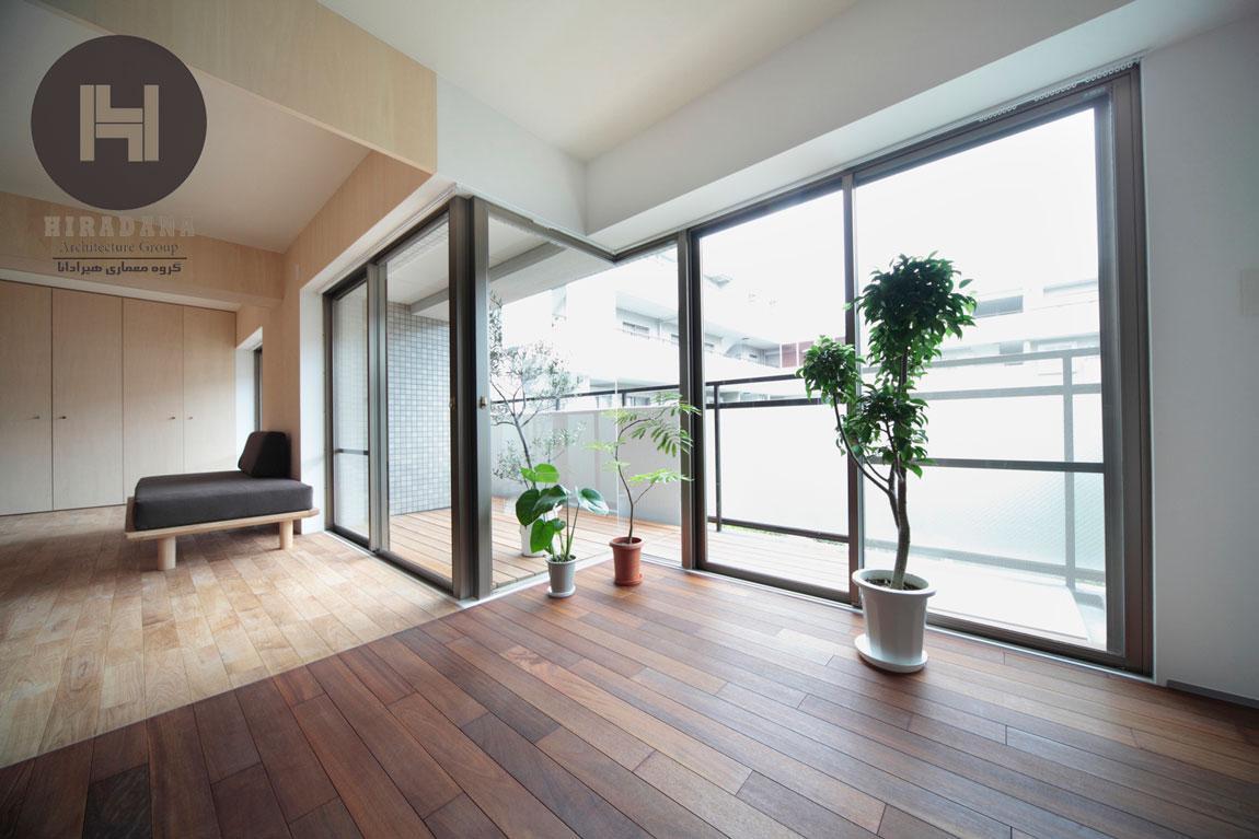 طراحی و بازسازی خانه دو دوست در ژاپن
