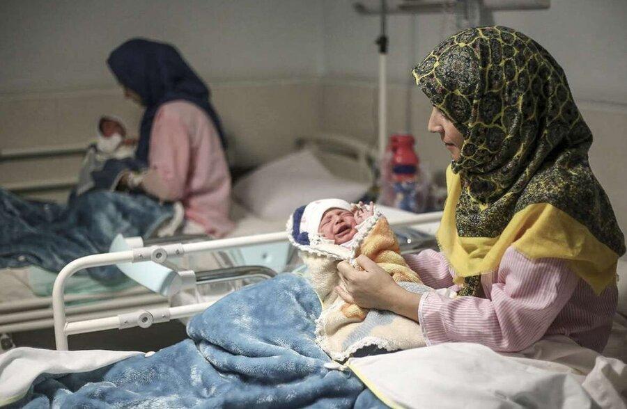 امسال آمار تولدها در ایران بیشتر بود یا فوتی ها؟ ، میانگین سنی مادران و پدرانی که بچه دار شدند