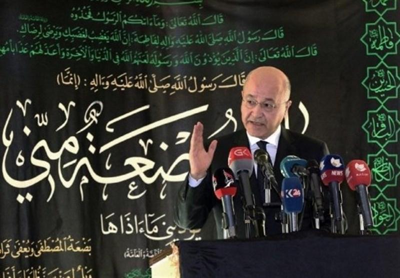 عراق، حضور مقام برجسته اهل سنت در مراسم عزاداری