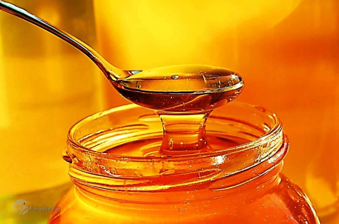 سرعت بخشیدن به بهبود عفونت گلو با اسپری عسل
