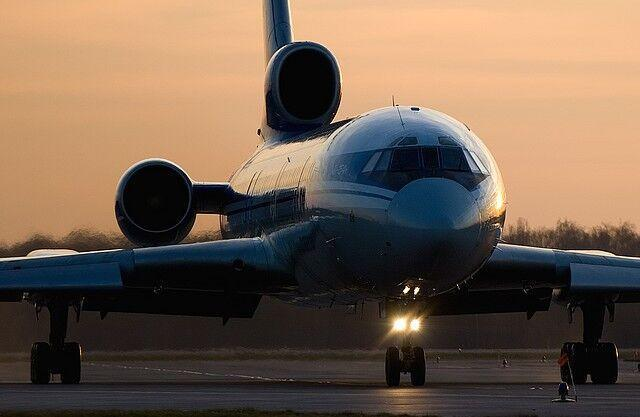 آخرین پرواز هواپیمای مسافربری توپولف در روسیه