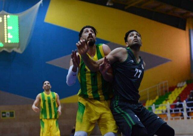 پیروزی بسکتبال نفت با دبل&zwnjدبل حسن&zwnjزاده، قزوین صدر را از دست داد