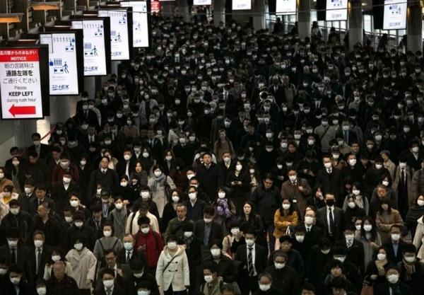 رکورد مبتلایان به کرونا در پایتخت ژاپن ، ثبت 618 بیمار کرونایی با علائم حاد