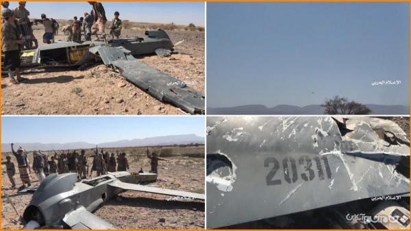 جزئیات عملیات شکار پهپاد تهاجمی نیروی هوایی آل سعود