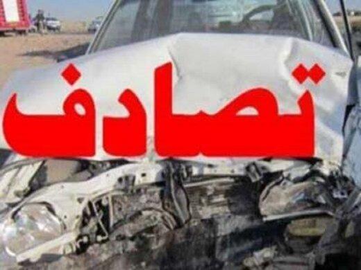 تصادف خونین دو خودرو در بزرگراه یادگار امام