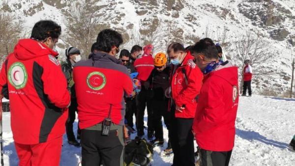 انتقال نخستین جسد در ارتفاعات شمال تهران