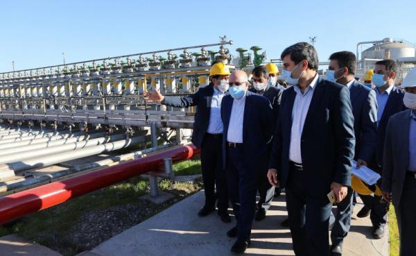 وزارت نفت، بازدید وزیر نفت از پایلوت طرح نوسازی مناطق نفت خیز جنوب