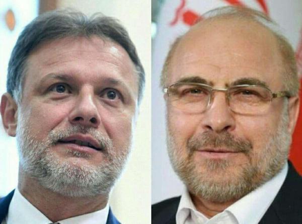 خبرنگاران قالیباف با آسیب دیدگان زلزله اخیر کرواسی ابراز همدردی کرد