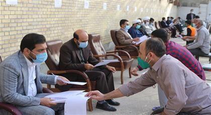 خبرنگاران مسائل قضایی 150 مددجوی زندان بندرعباس بررسی شد