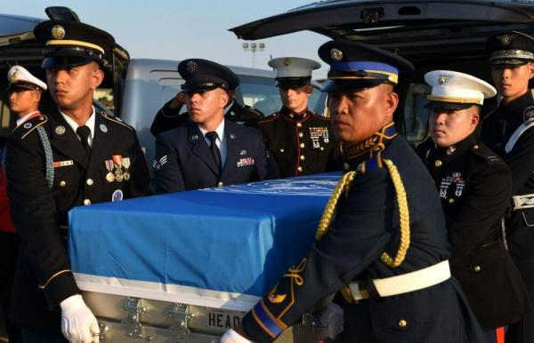 تحویل اجساد 70 نظامی آمریکایی به واشنگتن!