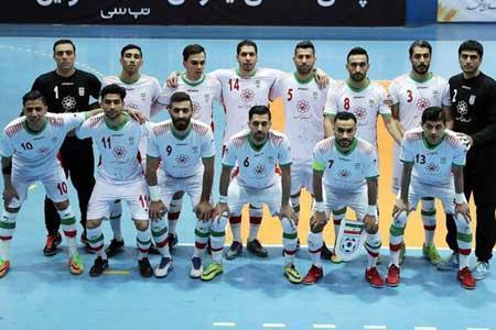 لیست تیم ملی فوتسال ایران به AFC ارسال شد
