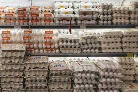 نرخ هر شانه تخم مرغ 34 هزار تومان