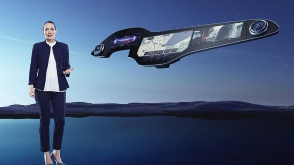 هایپر اسکرین؛ داشبورد لمسی در مدل جدید بنز
