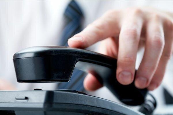ارتباط تلفنی مشترکان 6 مرکز مخابراتی دچار اختلال می شود