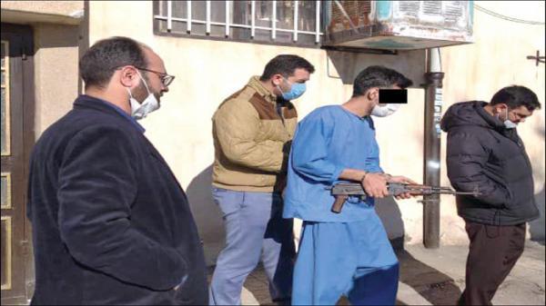 شلیک های مرگبار در کوچه خندق