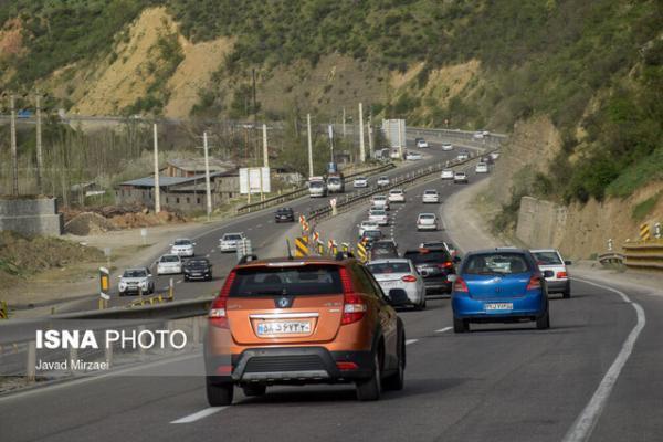ترافیک نیمه سنگین در تمامی محورهای مواصلاتی قزوین