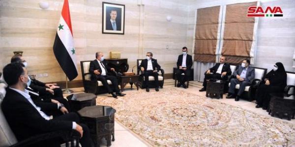 سوریه در پی توسعه همکاری های تجاری و اقتصادی با ایران است