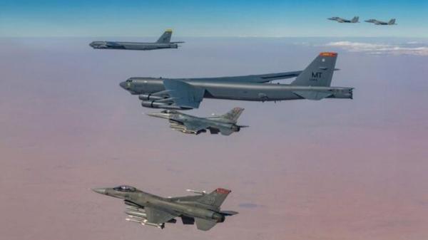 بازگشت بمب افکن های استراتژیک آمریکا به افغانستان