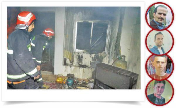 خاتمه تلخ یک دورهمی در خانه باغ با انفجار مرگبار پیک نیک ، 4 نفر زنده زنده سوختند