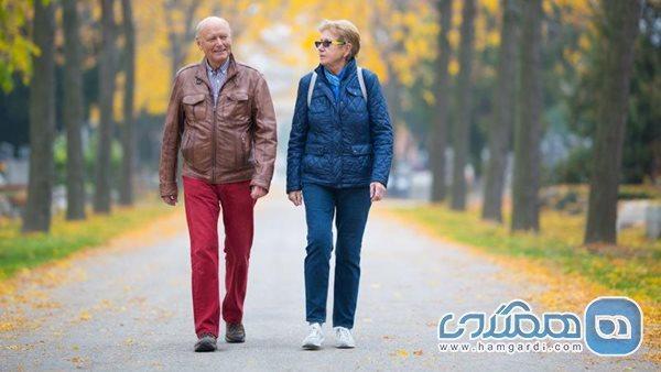 پیشگیری از پوکی استخوان با پیاده روی