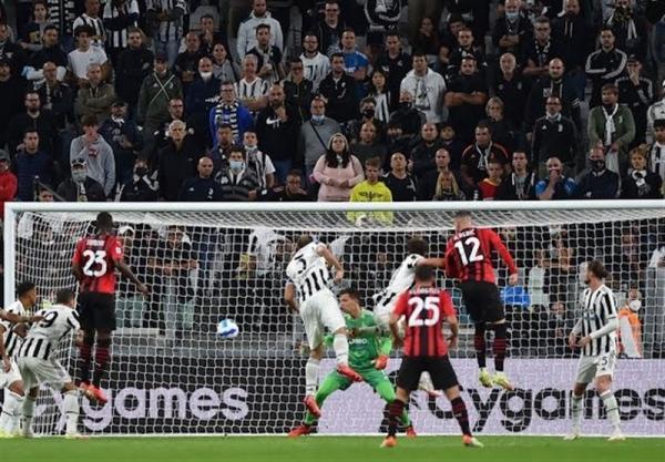 تور ایتالیا: سری A، میلان، یوونتوس را در تورین متوقف کرد، بانوی پیر همچنان در انتظار کسب اولین برد فصل